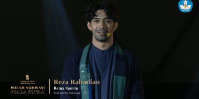 Reza Rahadian_Ketua Komite Festival Film Indonesia 2021